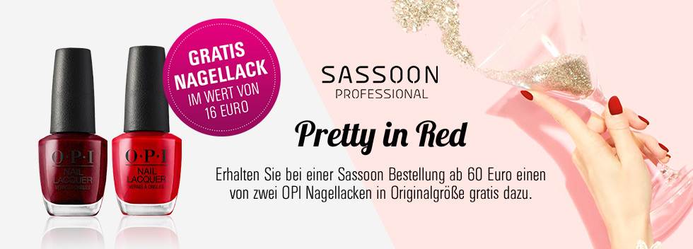 Pretty in Red Sassoon