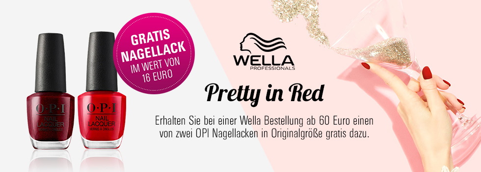 Pretty in Red Wella