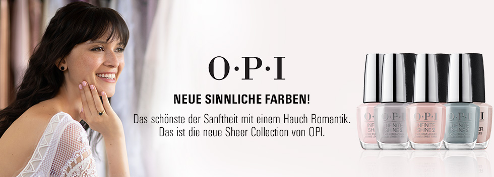 OPI Sheer Collection
