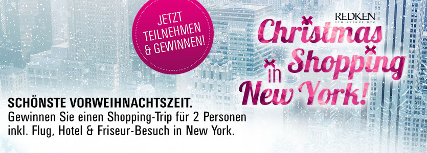 Gewinnen Sie ein Christmas-Shopping Weekend in New York