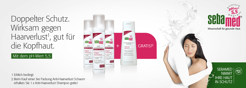 Sebamed gratis Shampoo 200 ml