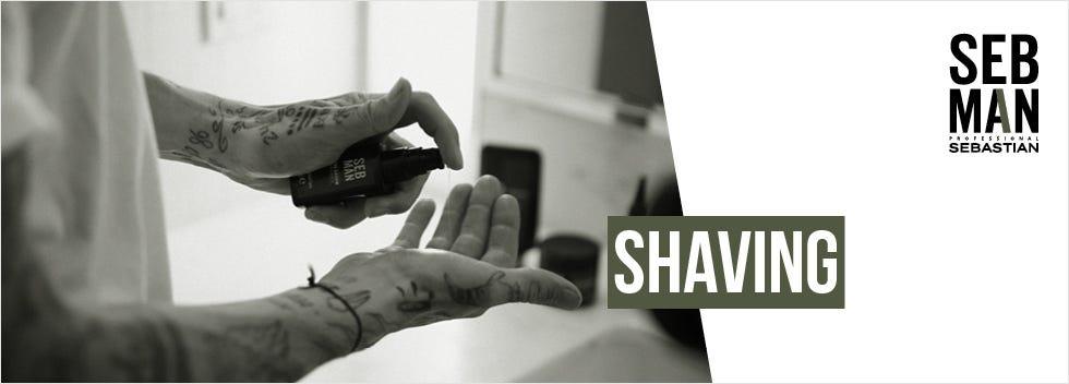 SEB Man Shaving