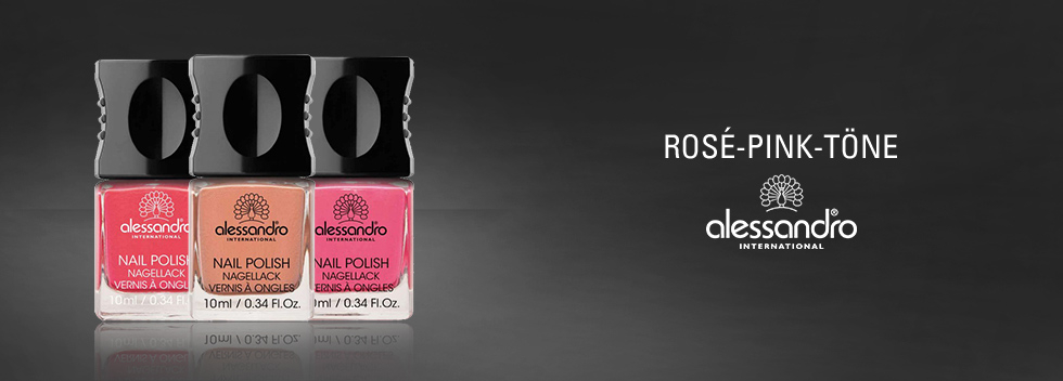 alessandro International Rosé- & Pink-Töne