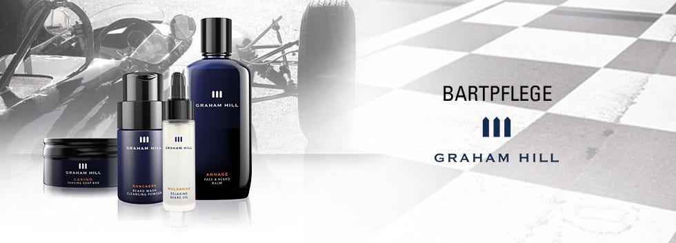 Graham Hill Bartpflege