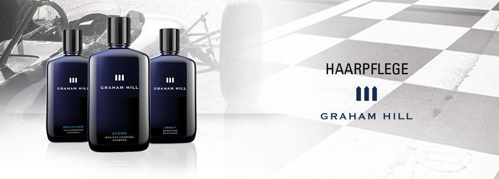 Graham Hill Haarpflege