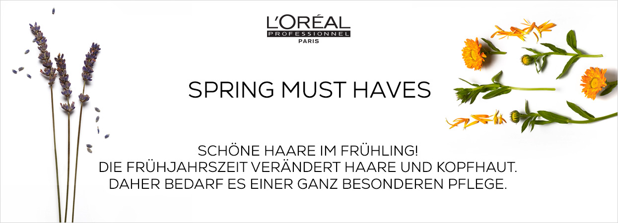 L'OREAL Spring Must Haves