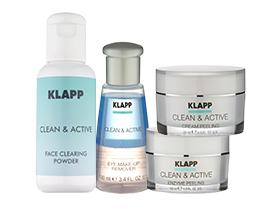 Klapp Cosmetics Clean & Active