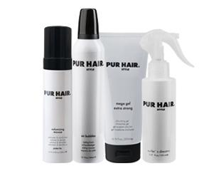 PUR HAIR. Styling