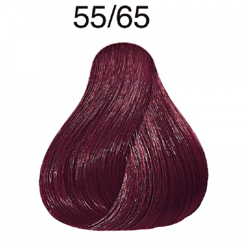 Wella Color Touch Vibrant Reds 55/65 hellbraun intensive violett-mahagoni