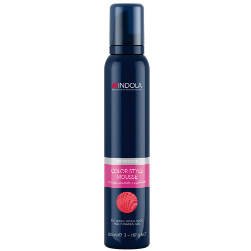 Indola Color Style Mousse Rot 200 ml