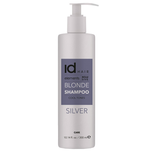Id Hair Elements Blonde XCLS Silver Shampoo 300 ml