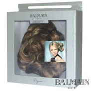 Balmain Elegance Bordeaux  Curl Clip short  Chocolat Brown;Balmain Elegance Bordeaux  Curl Clip short  Chocolat Brown