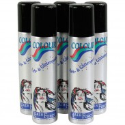 Hairforce Color Glitterspray blau 75 ml