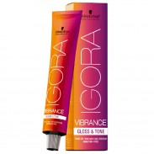 Schwarzkopf Igora Vibrance Gloss & Tone 7-55 Mittelblond Extra Gold 60 ml