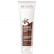 Revlon Revlonissimo 45 Days Sensual Brunettes 2 in 1 Shampoo & Conditioner 275 ml