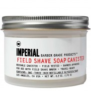 Imperial Barber Products Field Shave Soap Canister