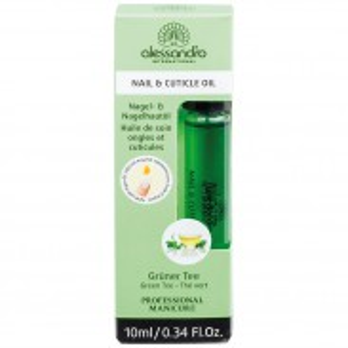 Alessandro Nail & Cuticle Oil Grüner Tee mit Arganöl 10 ml
