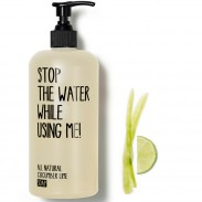 Stop the water while using me! All natural Cucumber Lime Soap 500 ml