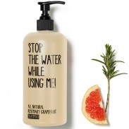 Stop the water while using me! All natural Rosemary Grapefruit Shampoo 200 ml