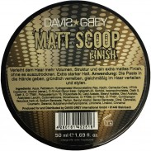 Davis Grey Matt Scoop Finish 50 ml