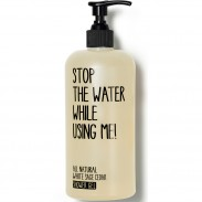Stop the water while using me! All Natural Cosmetics White Sage Shower Gel 200 ml