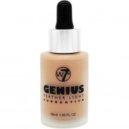 W7 Cosmetics Genius Foundation Natural Beige 30 ml