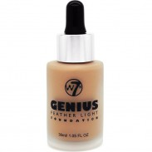 W7 Cosmetics Genius Foundation True Beige 30 ml