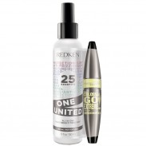 Redken One United Pflegetreatment 150 ml + gratis Maybelline Mascara