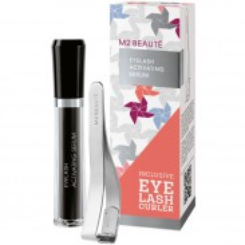 M2 Beauté Eyelash Serum + gratis Eyelash Curler