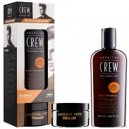 American Crew Get The Look Pack Daily Shampoo & Pomade