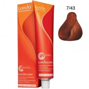 Londa Demi-Permanent Color Creme 7/43 Mittelblond Kupfer-gold 60 ml