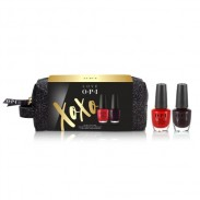 OPI Nail Lacquer Duo Pack mit Kosmetik-Tasche