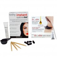 GODEFROY Instant Eyebrow Tint Dunkelbraun + Double Lash & Brow