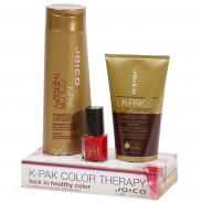 Joico K-Pak Color Therapy Duo-Set & Gratis-Nagellack