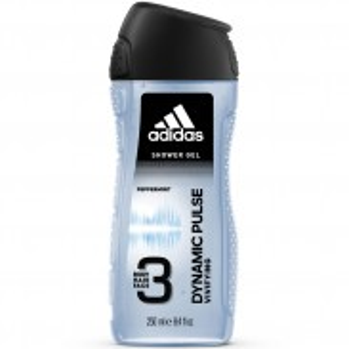 adidas Dynamic Pulse 3in1 Shower Gel for Men 250 ml