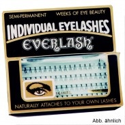 Everlash Wimpern trim extra kurz schwarz
