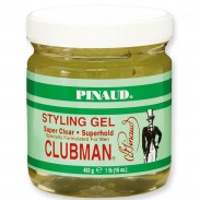 Clubman Pinaud Super Clear Styling Gel 473 ml