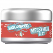 Wella Shockwaves Messy Go Matt Clay 75 ml