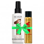 Revlon Uniq One Coconut Treatment 150 ml +  Gratis Dry Shampoo 75 ml
