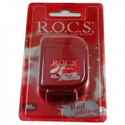 R.O.C.S. Dental Floss Red Edition 40 Meter