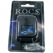 R.O.C.S. Dental Floss Black Edition 40 Meter