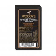 Woody's  Black Charcoal Soap 227 g
