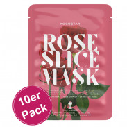 Kocostar Slice Mask Rose Flower 10er Pack