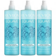 Revlon Equave Instant Beauty Hydro Nutritive Detangling Conditioner 3 x 500 ml