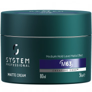 System Professional EnergyCode Man M63 Matte Cream 80 ml