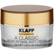 Klapp Cosmetics A Classic Micro Retinol soft Cream 30 ml