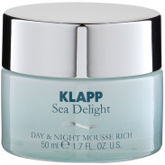 Klapp Cosmetics Sea Delight Day & Night Mousse Rich 50 ml