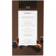 Korres Argan Oil Hair Colorant 5.0 Hellbraun