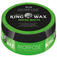Morfose King Wax Grün Super Strong Matte 175 ml