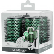 Olivia Garden Multibrush 4er Set 56/75 mm grün